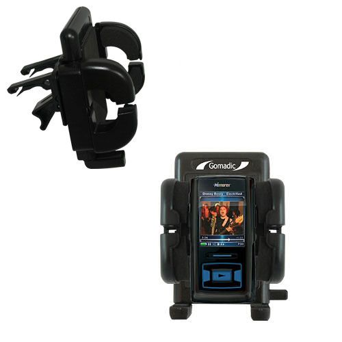 Gomadic Air Vent Clip Based Cradle Holder Car / Auto Mount suitable for the Memorex MMP8620 MMP8640 - Lifetime Warranty