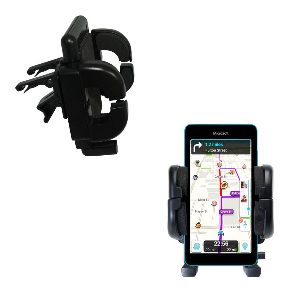 Vent Swivel Car Auto Holder Mount compatible with the Microsoft Lumia 535