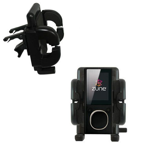 Vent Swivel Car Auto Holder Mount compatible with the Microsoft Zune 4GB / 8GB