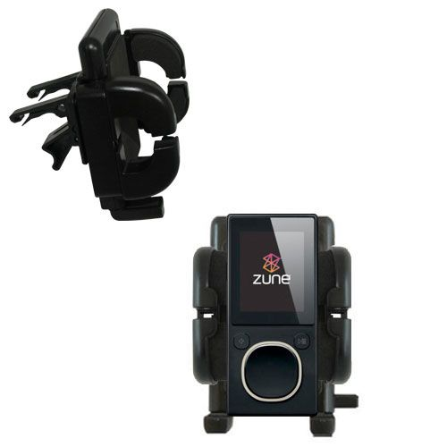 Vent Swivel Car Auto Holder Mount compatible with the Microsoft Zune 8 / 12