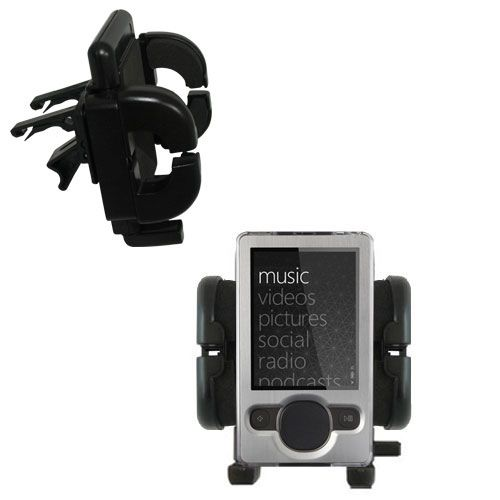 Vent Swivel Car Auto Holder Mount compatible with the Microsoft Zune (2nd and Latest Generation)