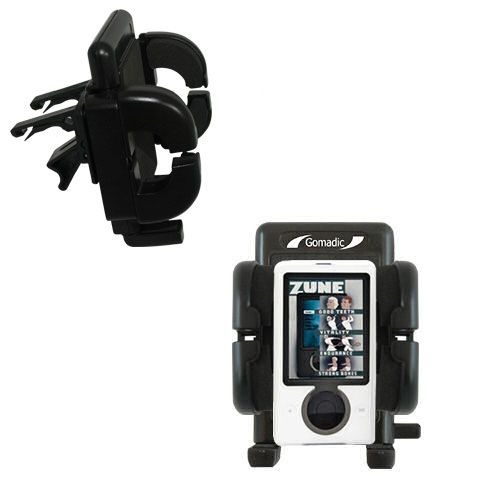 Vent Swivel Car Auto Holder Mount compatible with the Microsoft Zune Gen2