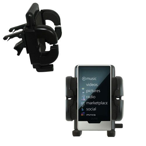 Vent Swivel Car Auto Holder Mount compatible with the Microsoft Zune HD