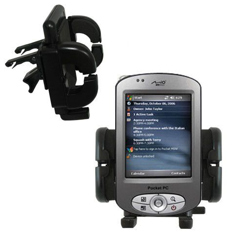Vent Swivel Car Auto Holder Mount compatible with the Mio P550