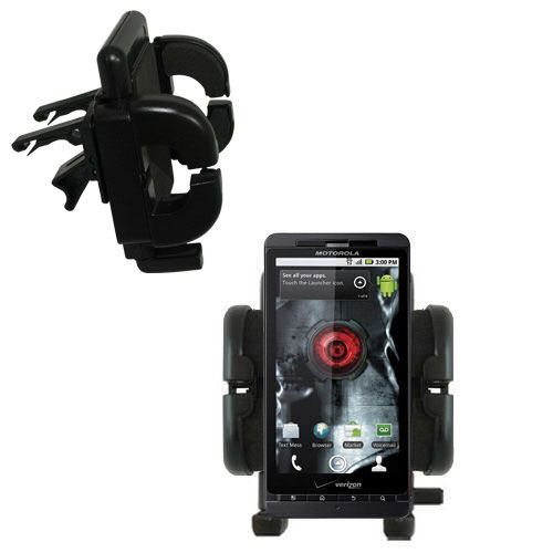 Vent Swivel Car Auto Holder Mount compatible with the Motorola Droid X