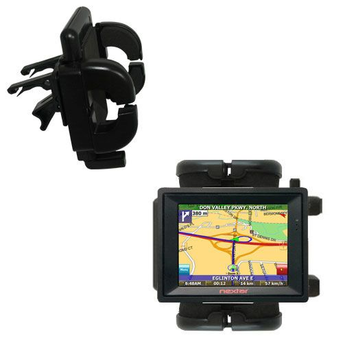 Vent Swivel Car Auto Holder Mount compatible with the Nextar SNAP3