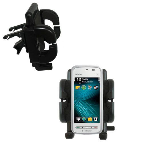 Vent Swivel Car Auto Holder Mount compatible with the Nokia 5230 Nuron