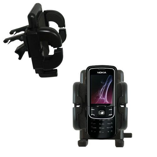 Vent Swivel Car Auto Holder Mount compatible with the Nokia 8600 Luna
