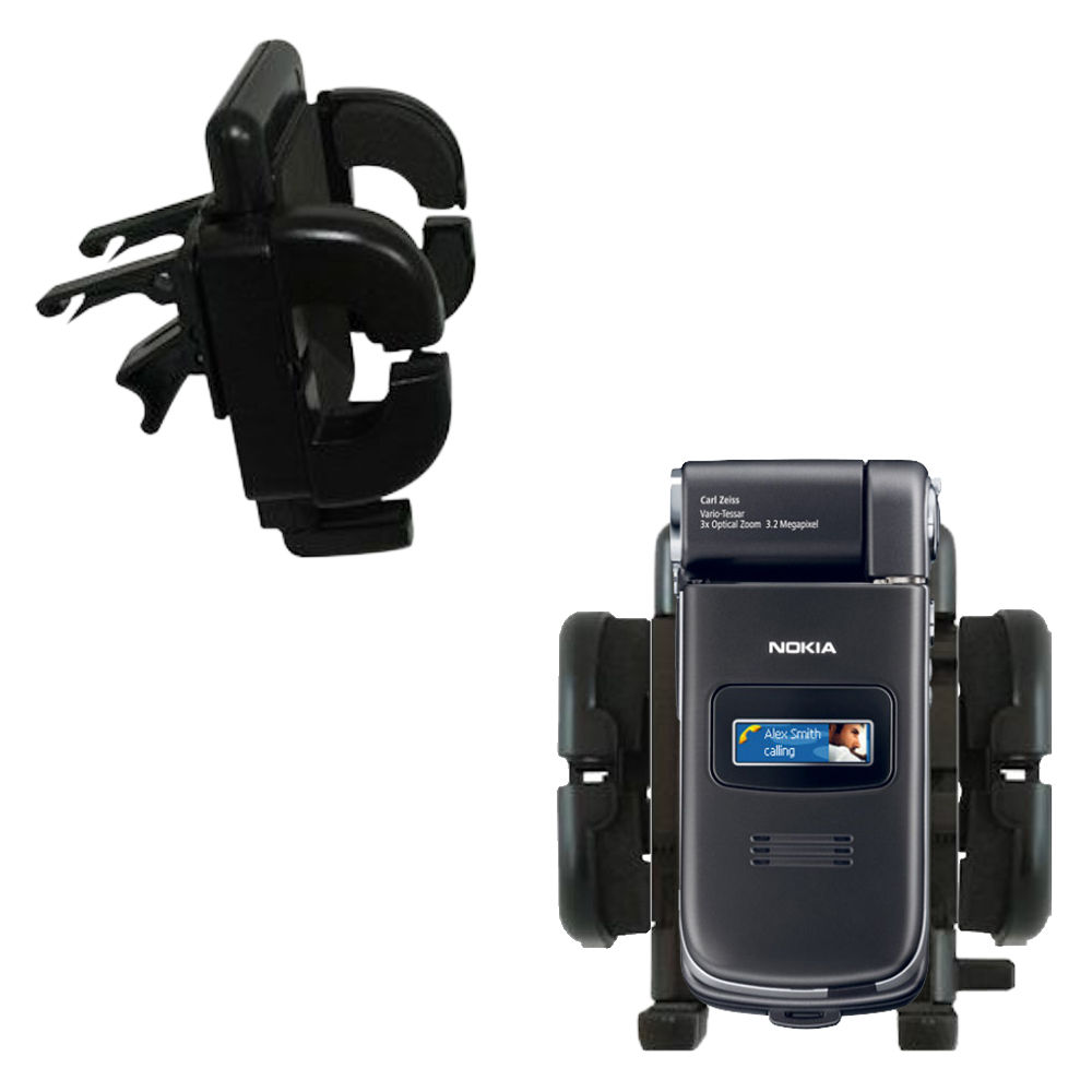 Vent Swivel Car Auto Holder Mount compatible with the Nokia N90 N93 N95