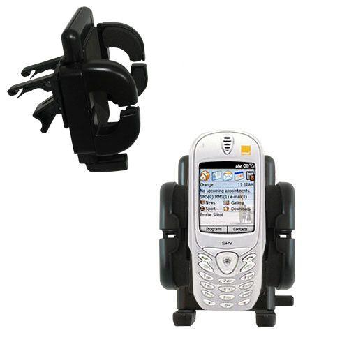 Vent Swivel Car Auto Holder Mount compatible with the Orange SPV Smartphone