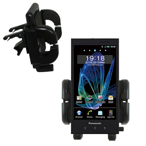 Vent Swivel Car Auto Holder Mount compatible with the Panasonic Eluga / dL1