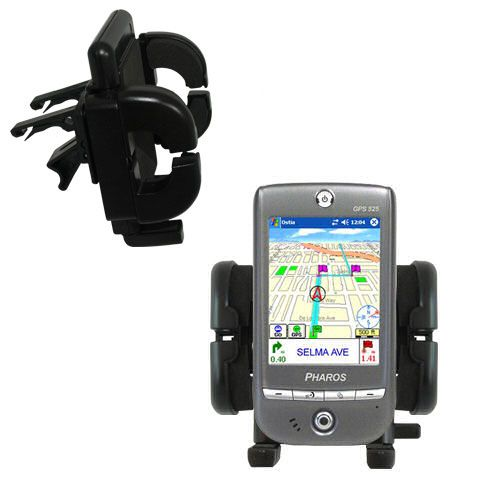Vent Swivel Car Auto Holder Mount compatible with the Pharos GPS 525E