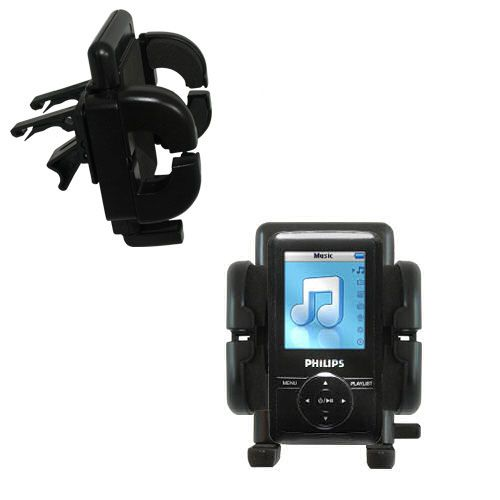 Vent Swivel Car Auto Holder Mount compatible with the Philips GoGear SA3125/37