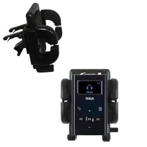 Vent Swivel Car Auto Holder Mount compatible with the RCA M2204 Lyra Digital Audio Player