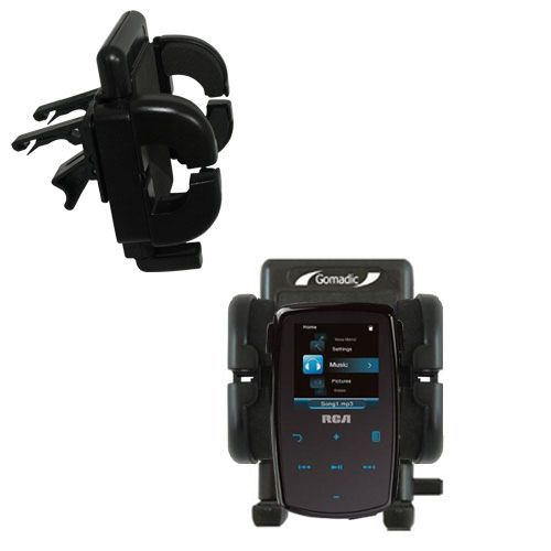 Vent Swivel Car Auto Holder Mount compatible with the RCA M3804 Lyra Digital Media Player