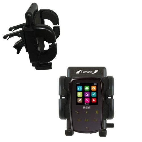 Vent Swivel Car Auto Holder Mount compatible with the RCA M3904 Lyra Digital Media Player