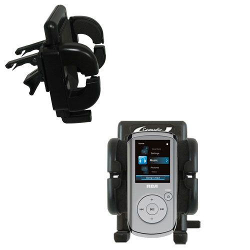 Vent Swivel Car Auto Holder Mount compatible with the RCA M4104 M4108 Digital Music Player