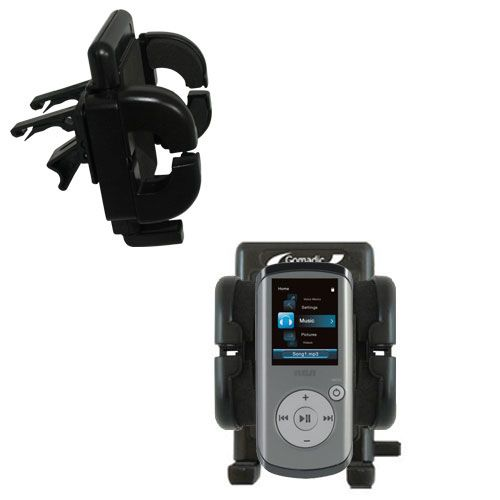Vent Swivel Car Auto Holder Mount compatible with the RCA M4202 OPAL Digital Media Player
