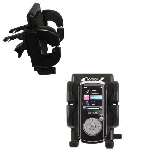 Vent Swivel Car Auto Holder Mount compatible with the RCA M4204 OPAL Digital Media Player