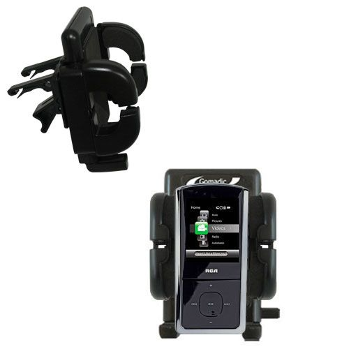 Vent Swivel Car Auto Holder Mount compatible with the RCA M4302 Digital Music Player