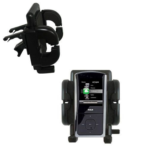 Vent Swivel Car Auto Holder Mount compatible with the RCA M4308 Opal Digital Media Player