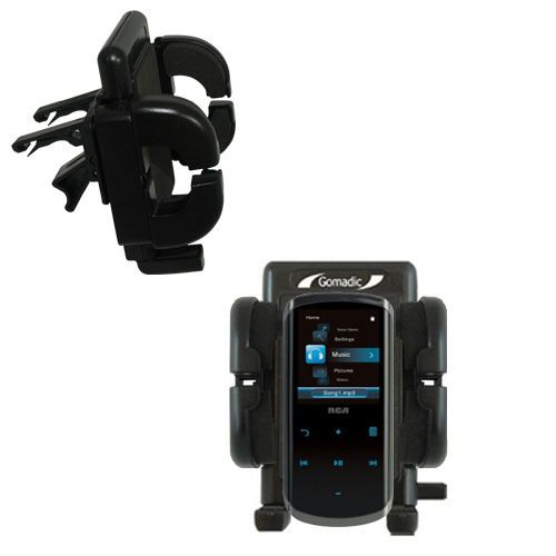 Vent Swivel Car Auto Holder Mount compatible with the RCA M4508 Lyra Digital Media Player