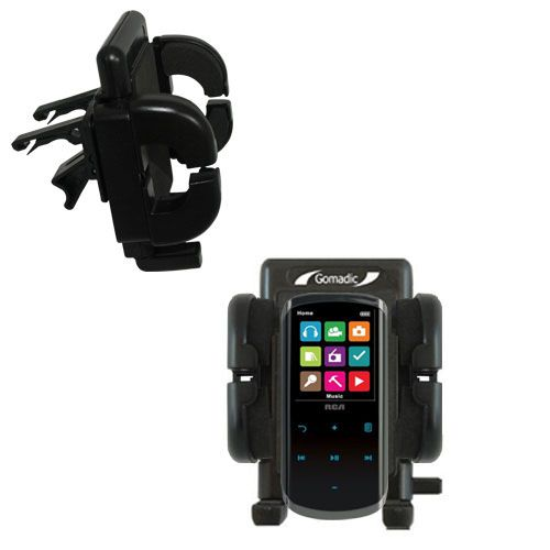 Vent Swivel Car Auto Holder Mount compatible with the RCA M4608 Lyra Digital Media Player