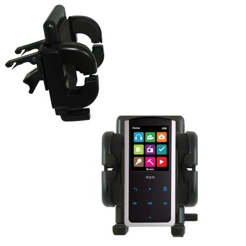 Vent Swivel Car Auto Holder Mount compatible with the RCA M4808 Lyra Digital Media Player