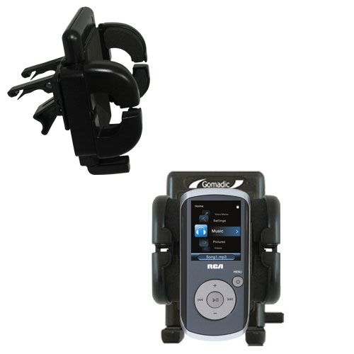 Vent Swivel Car Auto Holder Mount compatible with the RCA MC4208 OPAL Digital Media Player