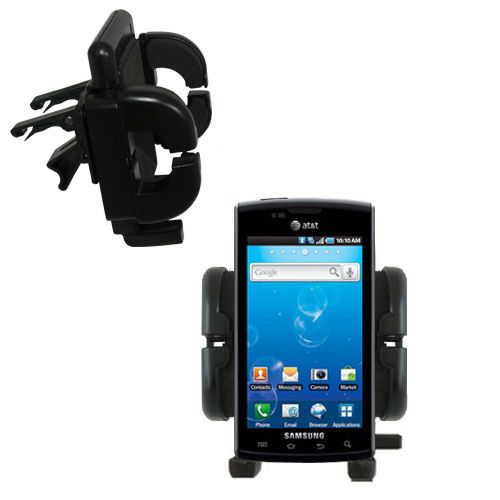 Vent Swivel Car Auto Holder Mount compatible with the Samsung Captivate