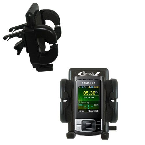 Vent Swivel Car Auto Holder Mount compatible with the Samsung GT-C3050