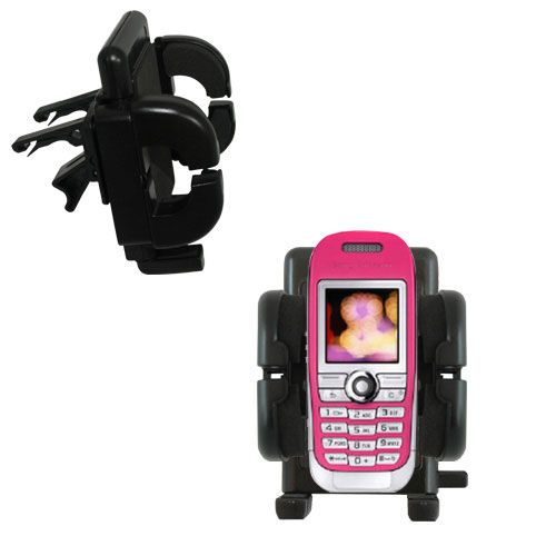 Vent Swivel Car Auto Holder Mount compatible with the Sony Ericsson J300c