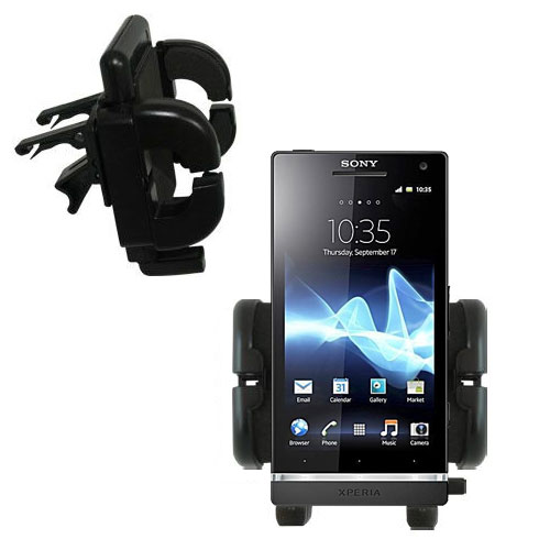 Vent Swivel Car Auto Holder Mount compatible with the Sony Ericsson Xperia S