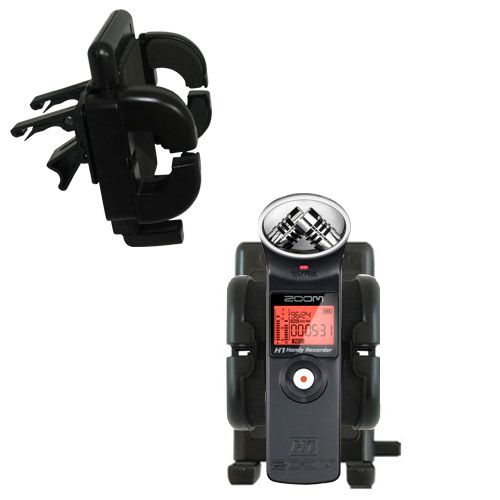 Vent Swivel Car Auto Holder Mount compatible with the Zoom H1