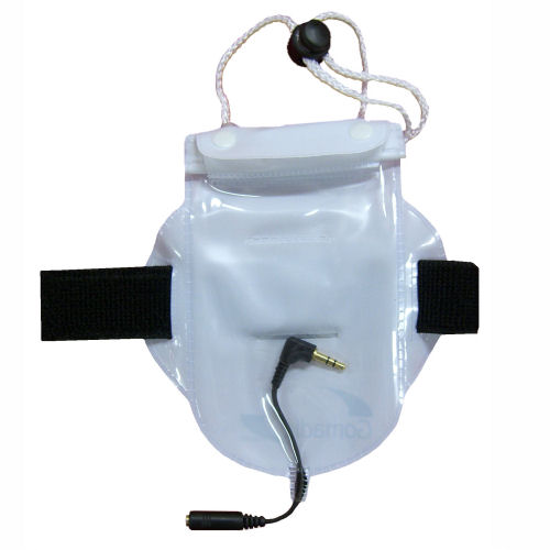 Waterproof Bag compatible with the Creative Zen Sleek Photo with headphone pass-through