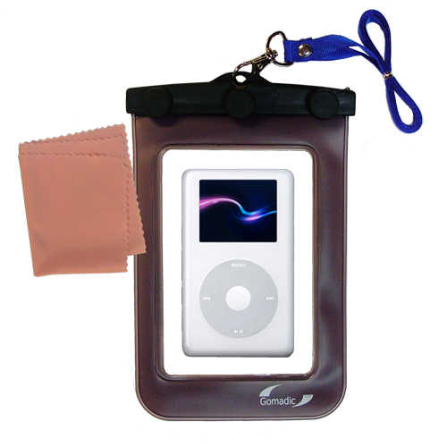 Waterproof Case compatible with the Apple iPod 4G (20GB) to use underwater
