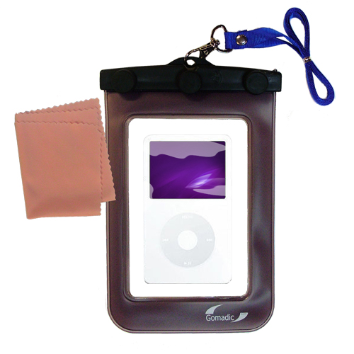 Waterproof Case compatible with the Apple iPod 5G Video (60GB) to use underwater