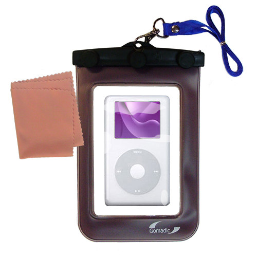 Waterproof Case compatible with the Apple iPod Photo (30GB) to use underwater