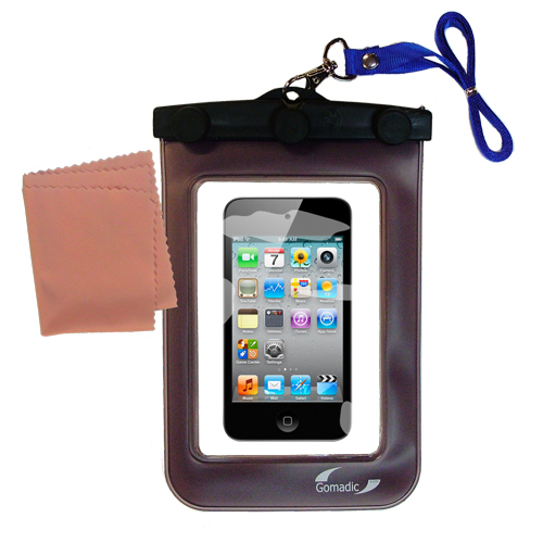 Waterproof Case compatible with the Apple iPod touch (4th generation) to use underwater
