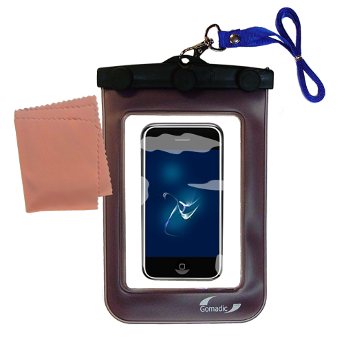 Waterproof Case compatible with the Apple iPod touch to use underwater