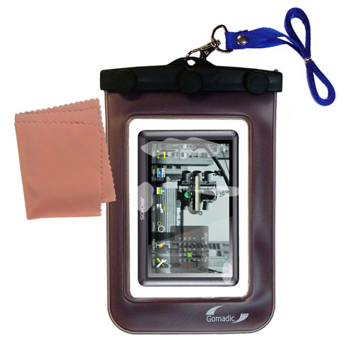 Waterproof Case compatible with the Archos 50b Vision to use underwater