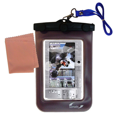 Waterproof Case compatible with the Archos AV500 Series to use underwater