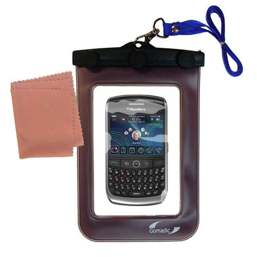 Waterproof Case compatible with the Blackberry 8900 to use underwater