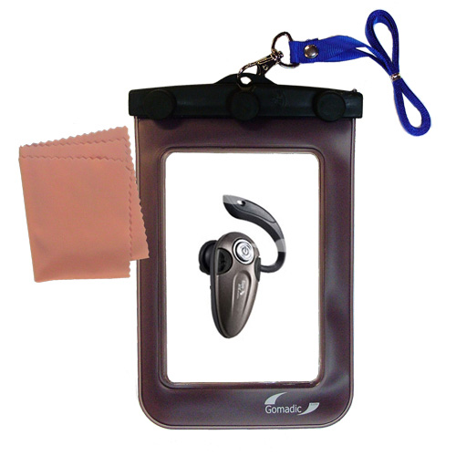 Waterproof Case compatible with the BlueAnt T8 micro to use underwater