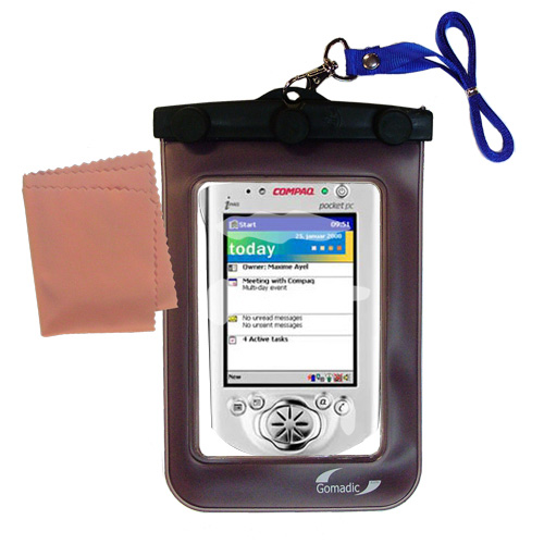 Waterproof Case compatible with the Compaq iPAQ h3600 Series to use underwater