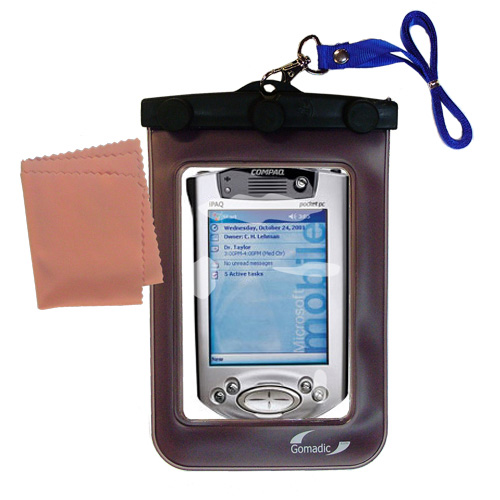 Waterproof Case compatible with the Compaq iPAQ h3700 Series to use underwater