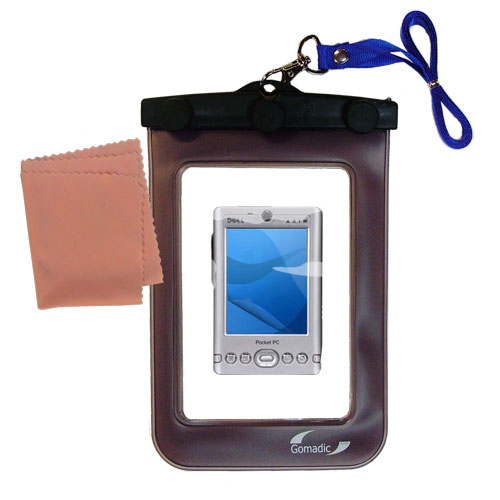 Waterproof Case compatible with the Dell Axim x3 x3i to use underwater
