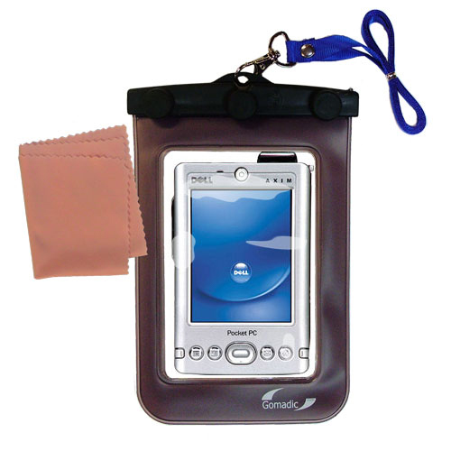 Waterproof Case compatible with the Dell Axim x3i to use underwater