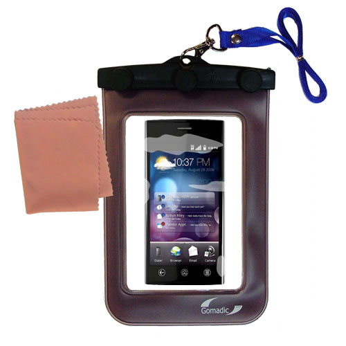 Waterproof Case compatible with the Dell Lightening to use underwater