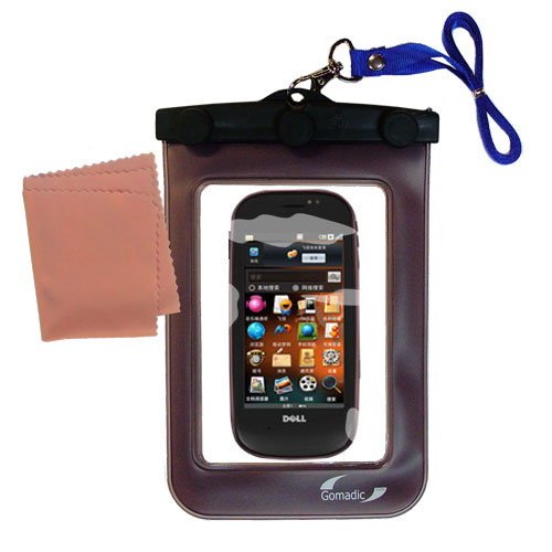 Waterproof Case compatible with the Dell Mini 3 3i 3ix to use underwater